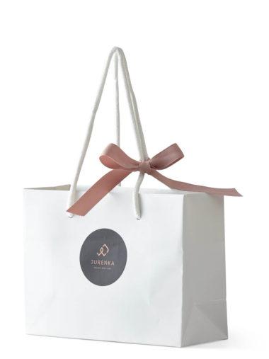 WHITE Gift bag