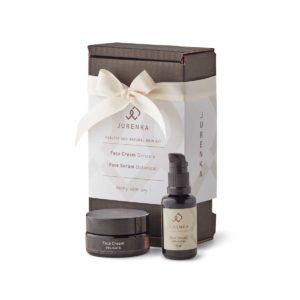 Skin kit face serum flasche face cream dose