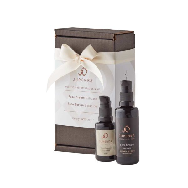 skin kit face serum face cream flasker